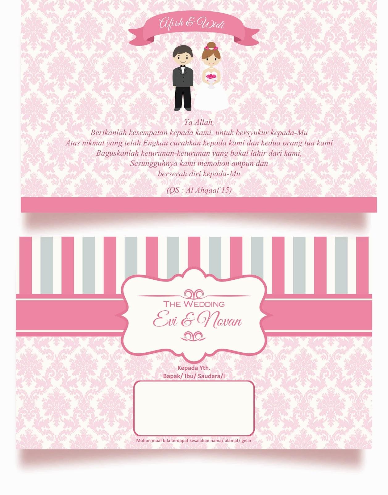 Vector Undangan Pernikahan Cdrp Staffwith