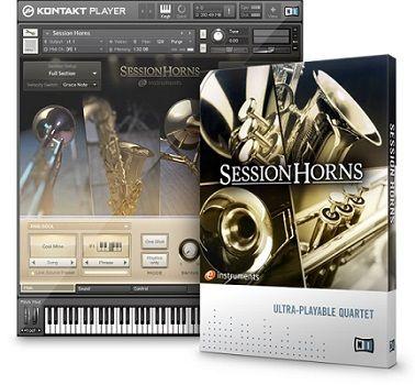 NI Session Horns Sección de Instrumentos de Viento VST