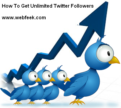 How To Increase Unlimited Twitter Followers Free