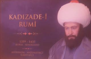 Kadızade-i Rumi Çalışmaları ve Bilime Katkıları