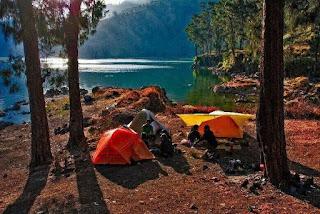 Danau Bukit Rinjani