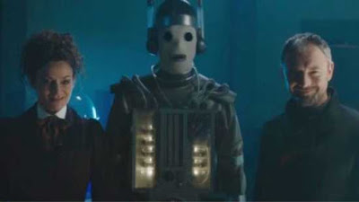 Doctor Who series 10 episode 11: World Enough and Time. missy, the master, cybermen