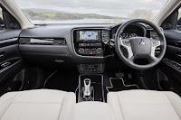 Mitsubishi Outlander PHEV (2017) Dashboard