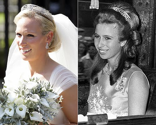 Image result for zara phillips wedding
