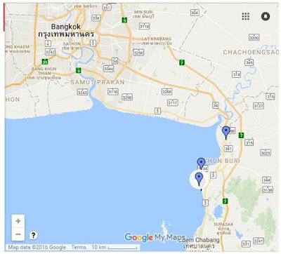 バンセーン地図