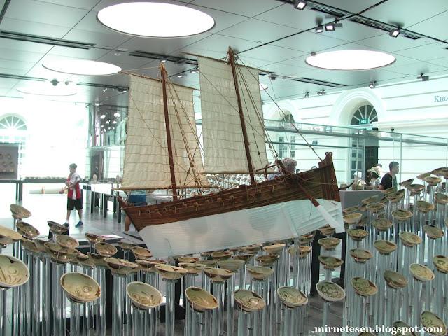 Музей цивилизаций Азии в Сингапуре: китайский фарфор