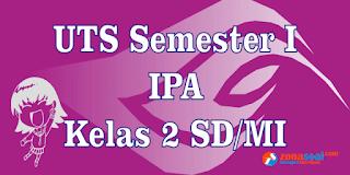 Contoh soal latihan ulangan uts mata pelajaran IPA kelas  Soal Latihan UTS IPA Kelas 2 Semester 1 dan Kunci Jawaban
