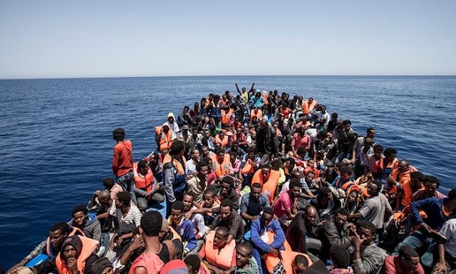 Más de 45.000 inmigrantes llegaron a Europa en lo que va de año