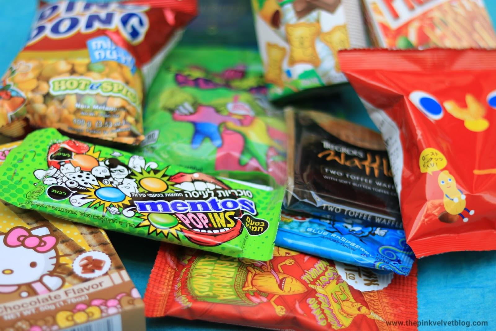 MunchPak - Candies Snack Subscription Box