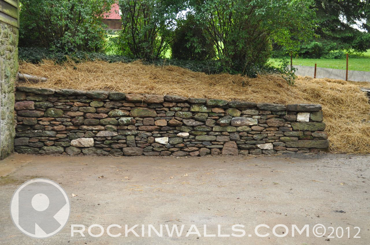 Rockin Walls Glenville Pa Finished Project Dry Laid