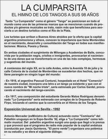 ARGENTINE TANGO ARGENTINO AND RIOPLATENSE uruguayo legazcue de leon iza   resumen 14aa6a62ccf