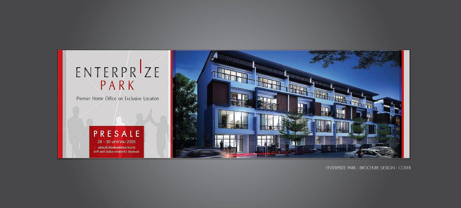 HOUSING BROCHURE DESIGN ENTERPRIZE PARK Neutralart Graphic Design