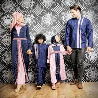 gambar baju lebaran untuk keluarga