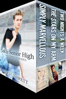 Tekla Senior High: The Complete Series by Leigh Jarrett