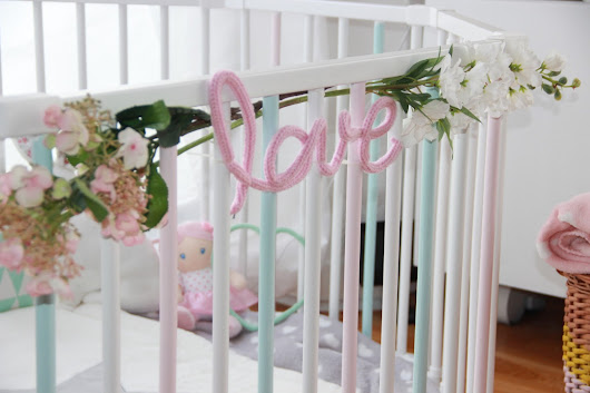 TUTO DECO : CUSTOMISER UN PARC POUR BEBE