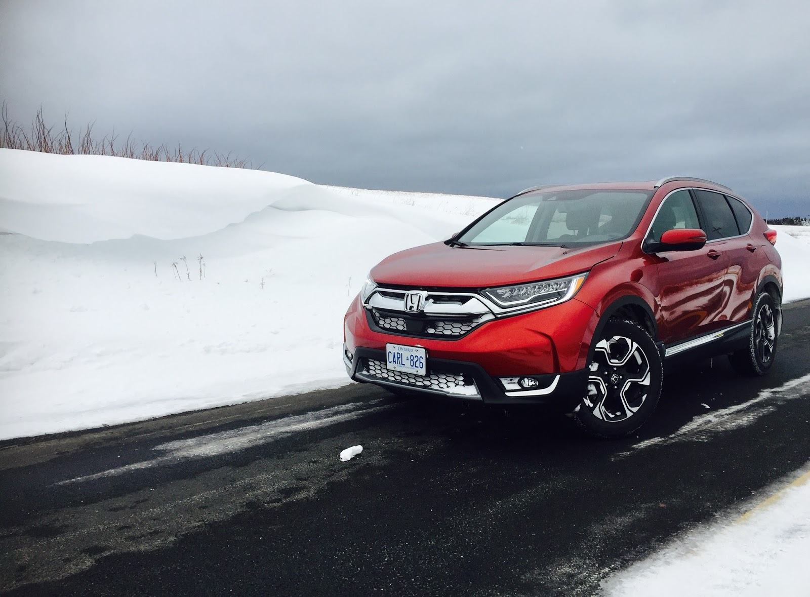 Review: 2017 Honda CR-V Touring – It's Our Problem-Free ...