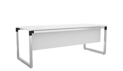 bürosit,burosit,ofis masası,çalışma masası,personel masası,metal ayaklı,ön perdeli