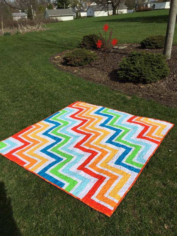 Loving Retirement Zigzag Quilt