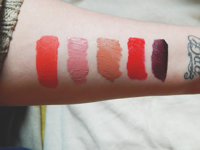 5 Favorites || Matte Lipsticks