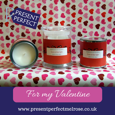 Love at First Light candles by Esscentual Candles