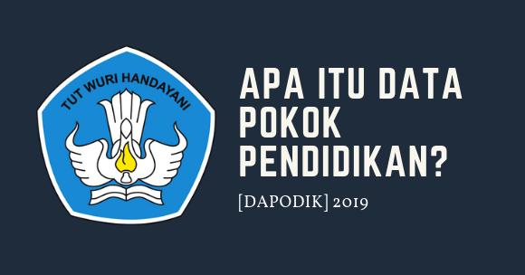 Apa itu Data Pokok Pendidikan Dapodik 2019 - Vandi ID