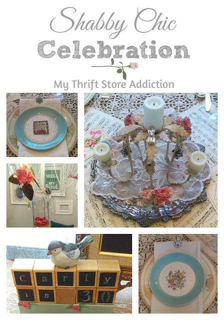 shabby chic celebration