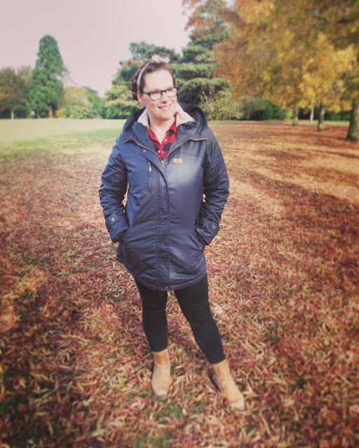 Trespass Coat review Simply Be from Mrs Bishop