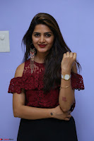 Pavani Gangireddy in Cute Black Skirt Maroon Top at 9 Movie Teaser Launch 5th May 2017  Exclusive 073.JPG
