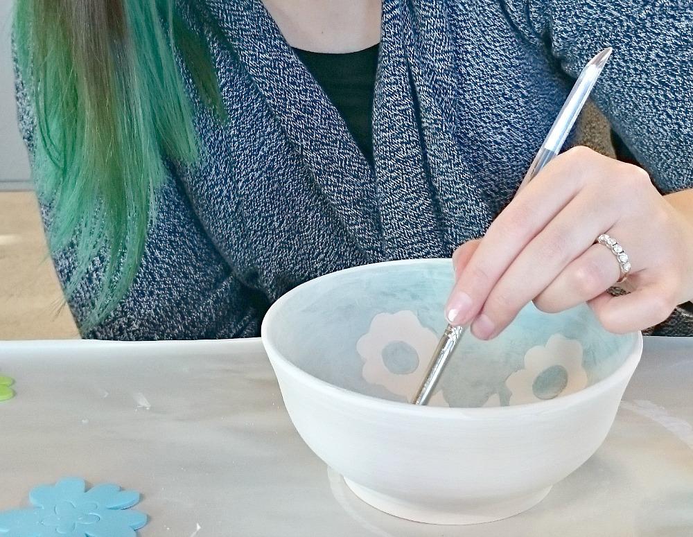 Paint a pot workshop