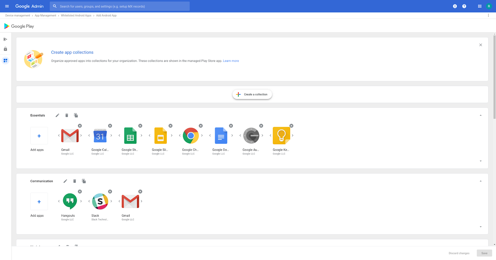 G Suite Updates Blog: Organize and create apps for your