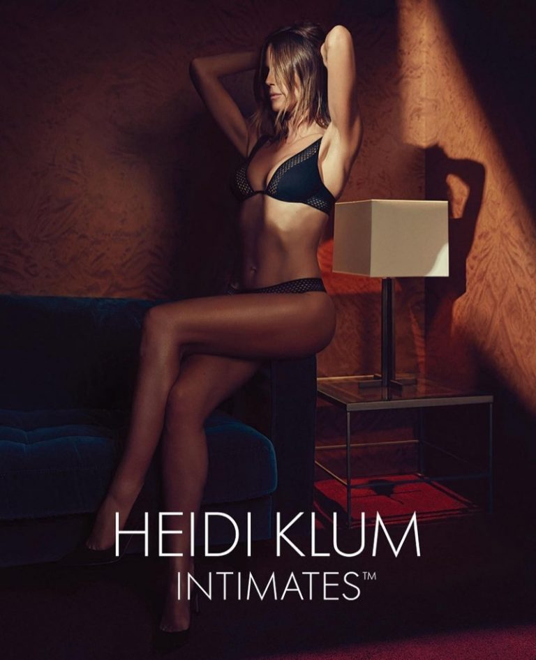Heidi Klum for Heidi Klum Intimates Spring/Summer 2018