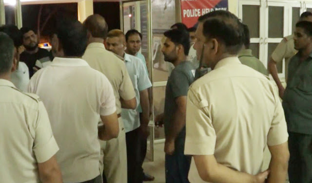 PWD office has night-time gathering in the fun of Mohfil, Alcohol and Shabab Police