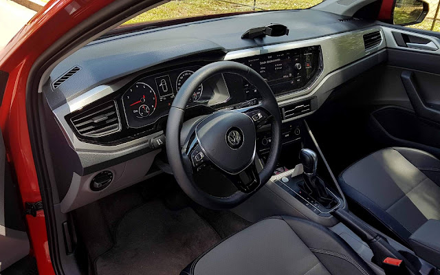 VW Polo 200 TSI - interior