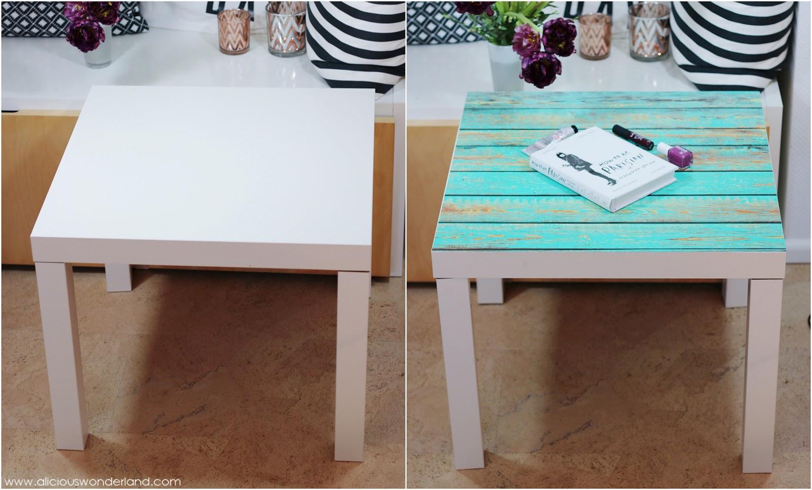 ikea lack tisch neu gestalten wohn design. Black Bedroom Furniture Sets. Home Design Ideas