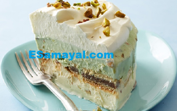 ஐஸ்கிரீம் கேக் செய்முறை   Ice Cream Cake Recipe !