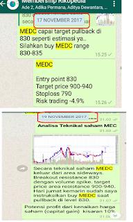 Potensi breakout saham MEDC