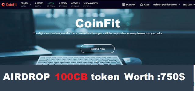 coinfit airdrop