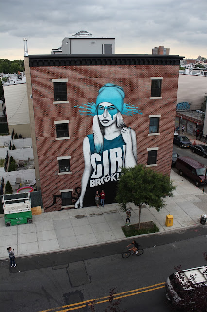 While we last heard from him in Los Angeles, FinDAC has now landed in New York City where he just finished working on a large scale piece in Brooklyn.
