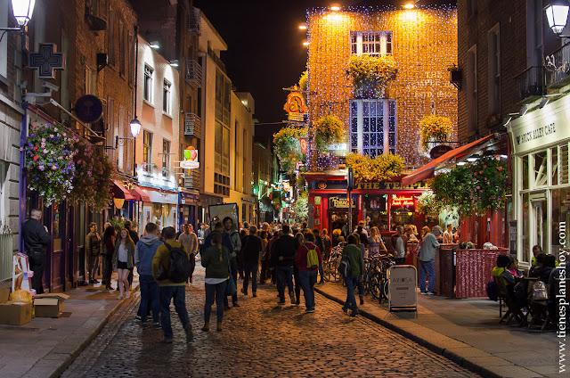 Dublin Temple Bar noche