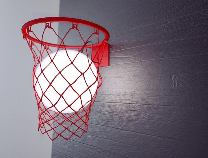 product led basketball lamp
