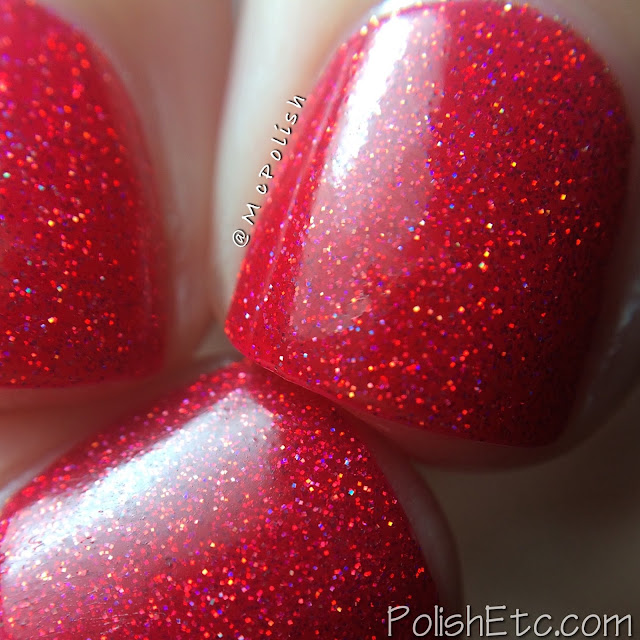 Nine Zero Lacquer - Holiday 2015 Collection - McPolish - Santa Suit
