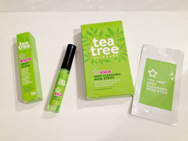 Superdrug Tea Tree Skin Range. Nourish ME: www.nourishmeblog.co.uk