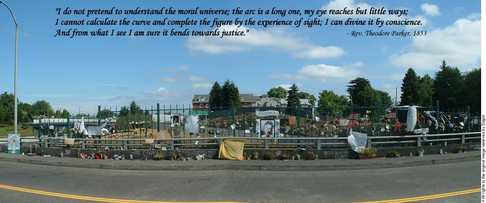 2003 Site of Kendra James Memorial