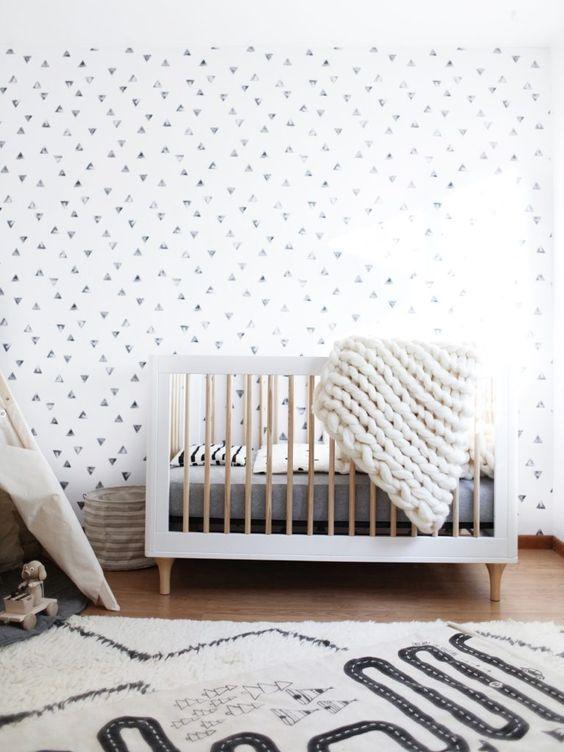 Idées déco chambre bébé sobre