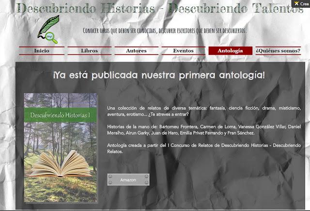 """""""Descubriendo Historias 1"""" coautor Fransánchez"""
