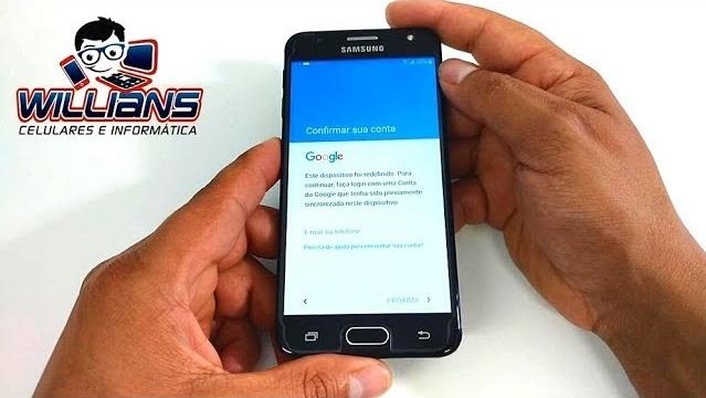 Desbloqueio Google Galaxy J5 Prime SM-G570, G570M, Desbloquear, Atualizar
