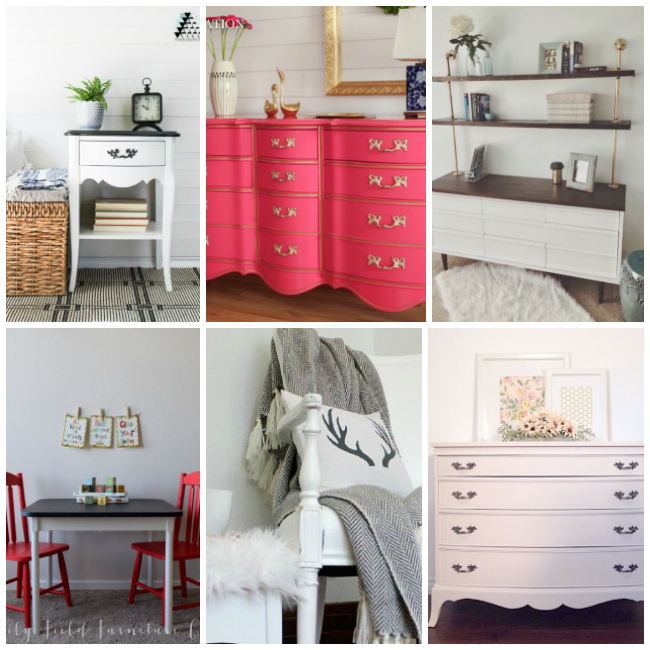 painting furniture, milk paint, chalk paint, repurposed furniture ideas, refinished furniture, furniture inspiration, white paint, pink paint colors
