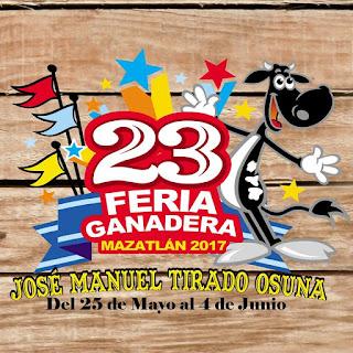feria ganadera mazatlán 2017
