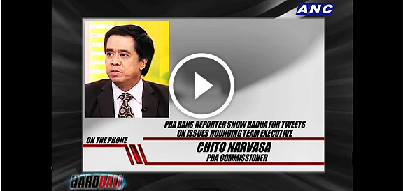 Snow Badua, Chito Narvasa speak up on PBA ban (VIDEO)