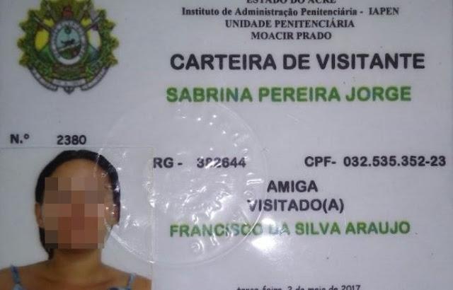 Em Tarauacá mulher é flagrada com celular nas partes intimas, tentando entra no Presídio